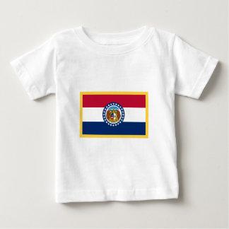 ミズーリの旗 ベビーTシャツ