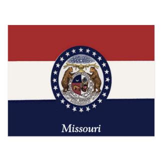 ミズーリの旗 ポストカード