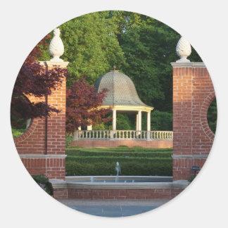ミズーリの植物園の望楼 ラウンドシール