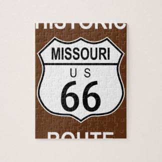 ミズーリの歴史的なルート66 ジグソーパズル