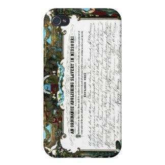 ミズーリの解放の法令 iPhone 4 ケース