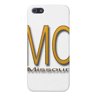 ミズーリの金ゴールド iPhone 5 ケース
