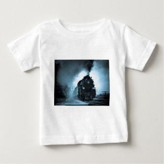 ミズーリの青緑色太平洋の蒸気の乗客 ベビーTシャツ