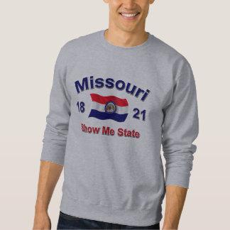 ミズーリは私に国家を示します スウェットシャツ