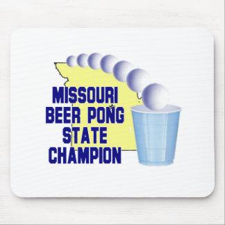 ミズーリビールPongのチャンピオン マウスパッド