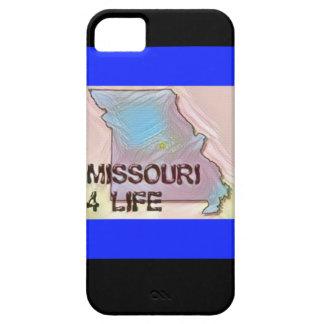 """""""ミズーリ4生命""""の州の地図のプライドのデザイン iPhone SE/5/5s ケース"""