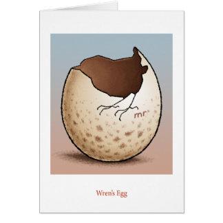 ミソサザイの卵カード カード