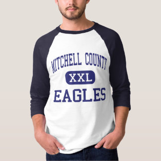 ミッチェル郡イーグルスの中間カミラ Tシャツ