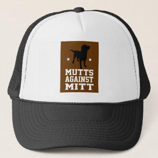 ミットに対する雑種犬 キャップ