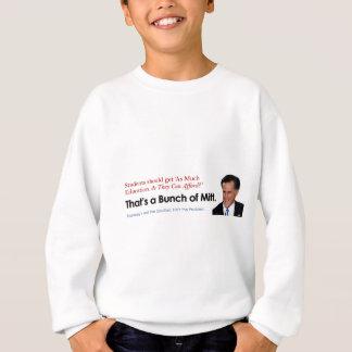 ミットの束-教育 スウェットシャツ