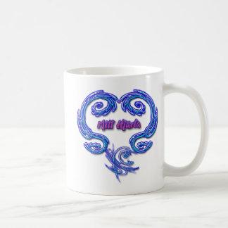 ミットのHjartaのマグ(スウェーデン語) コーヒーマグカップ