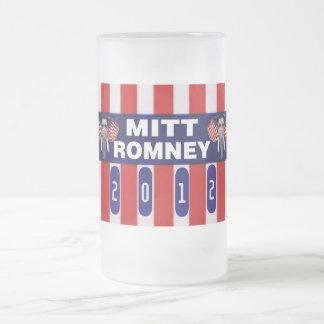 ミットのRomeny GOPのマスコット フロストグラスビールジョッキ