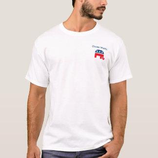 ミット・ロムニーのアドミタンスのワイシャツ Tシャツ