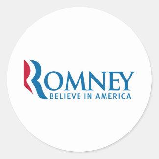 ミット・ロムニーの大統領のなキャンペーン選挙プロダクト ラウンドシール