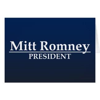 ミット・ロムニーの大統領 カード
