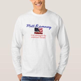 ミット・ロムニーの本当の強さ Tシャツ