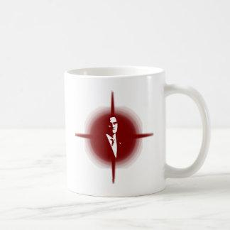 ミット・ロムニーの輪郭 コーヒーマグカップ