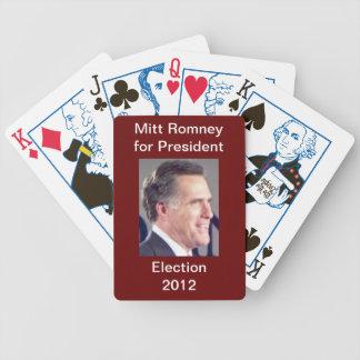 ミット・ロムニーの選挙2012のトランプ バイスクルトランプ