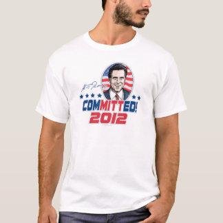 ミット・ロムニーは2012ギアを託しました Tシャツ