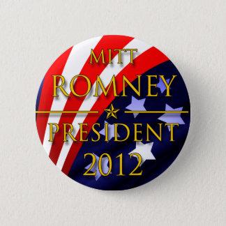 ミット・ロムニー2012年の大統領のなボタン 5.7CM 丸型バッジ