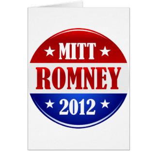 ミット・ロムニー2012年 カード