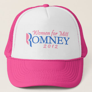 ミット・ロムニー2012年、ピンクまたは青のための女性 キャップ