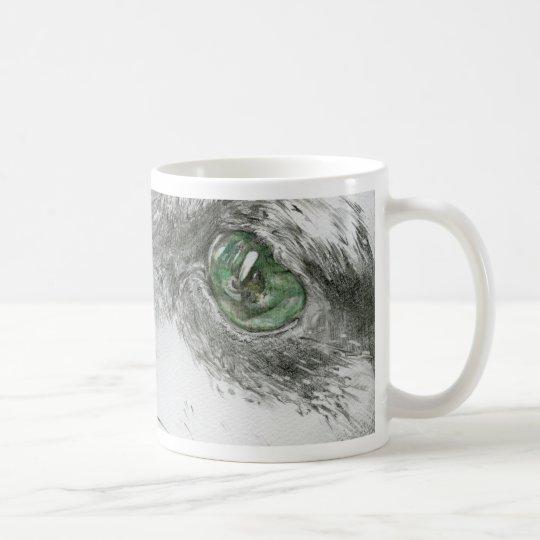 ミニチュアピンシャードローイング コーヒーマグカップ