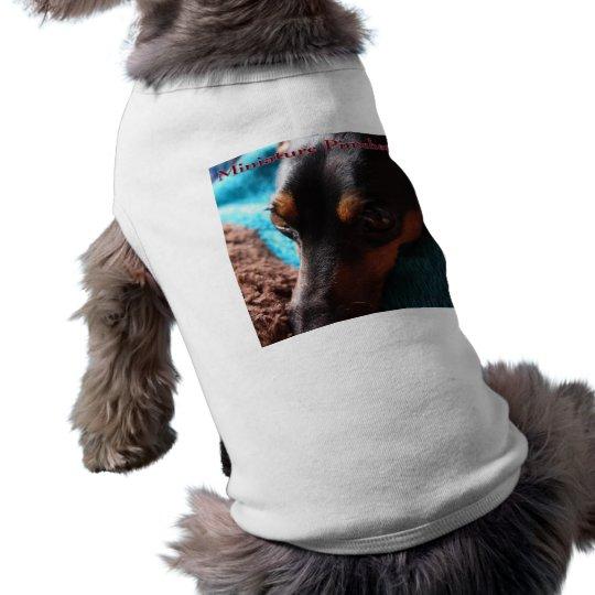 ミニチュアピンシャー写真入犬用シャツ ペット服