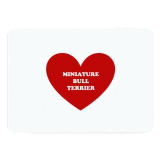 ミニチュアブルテリア カード