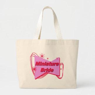 ミニチュア花嫁の後輩の花嫁のトートバック ラージトートバッグ