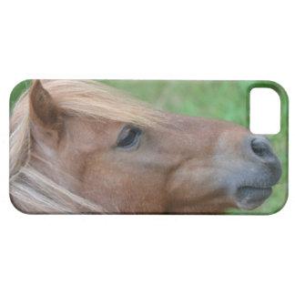 ミニチュア馬の顔を搭載するiPhone 5の場合 iPhone SE/5/5s ケース