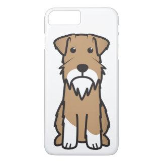 ミニチュア・シュナウツァー犬の漫画 iPhone 8 PLUS/7 PLUSケース