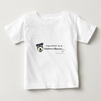 ミニチュア・シュナウツァー-多くは繁殖します ベビーTシャツ