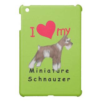 ミニチュア・シュナウツァー iPad MINIカバー