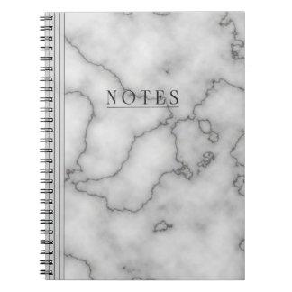 ミニマリストの大理石 ノートブック