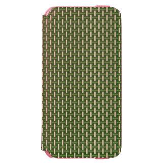 """ミニマルで幾何学的なパターン-日本""""タケ森林"""" INCIPIO WATSON™ iPhone 6 財布ケース"""