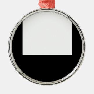 ミニマルなデザインの写真フレームの円形のオーナメント メタルオーナメント