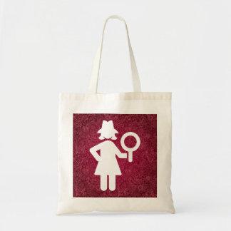ミニマルな探偵の調査官 トートバッグ