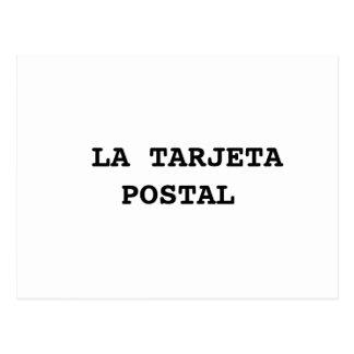 ミニマルな郵便はがき(グローバル化の版1) ポストカード