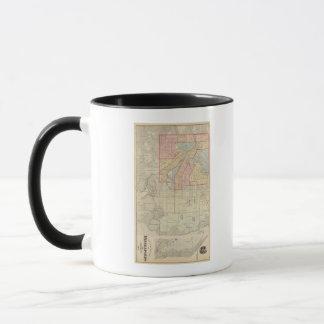 ミネアポリスおよび近辺の都市の計画 マグカップ