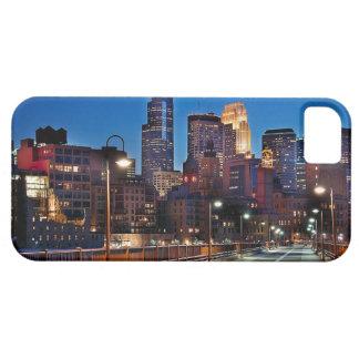 ミネアポリスのスカイラインのiPhone 5/5Sの場合 iPhone SE/5/5s ケース