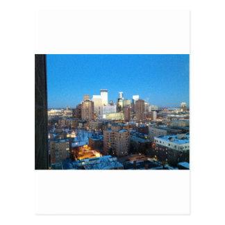 ミネアポリスの冬 ポストカード
