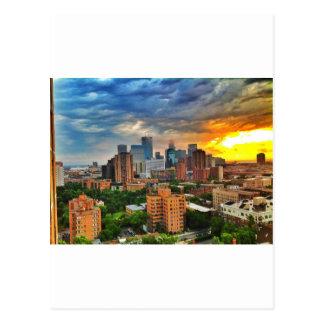 ミネアポリスの嵐 ポストカード