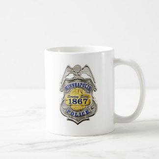 ミネアポリスミネソタの警察は記章を付けます コーヒーマグカップ