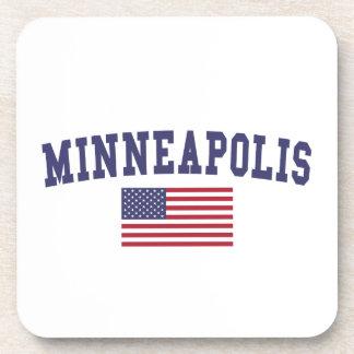 ミネアポリス米国の旗 コースター
