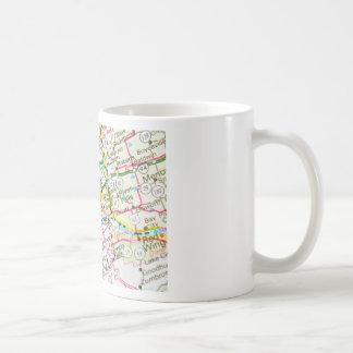 ミネアポリス、ミネソタ コーヒーマグカップ