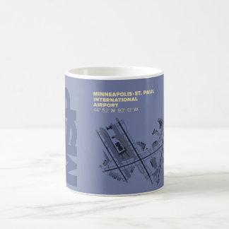 ミネアポリスSt. ポール空港(MSP)図表 コーヒーマグカップ