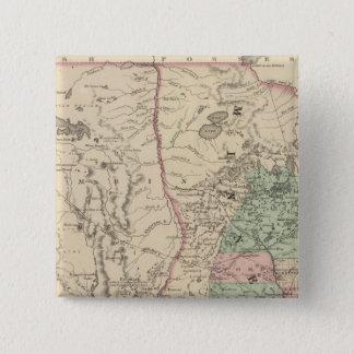 ミネソタおよびDakotah 5.1cm 正方形バッジ