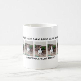 ミネソタのシェットランド・シープドッグの救助の吠え声のマグ コーヒーマグカップ