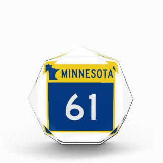 ミネソタのトランクのハイウェー61 表彰盾